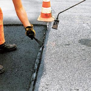 Ямочный ремонт асфальтобетонного покрытия со всеми подготовительными работами